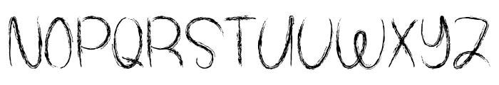 Spooky Halloween Font UPPERCASE