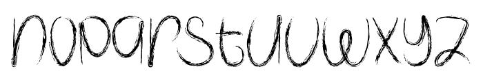 Spooky Halloween Font LOWERCASE