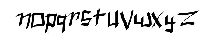 Spork Thug Font LOWERCASE