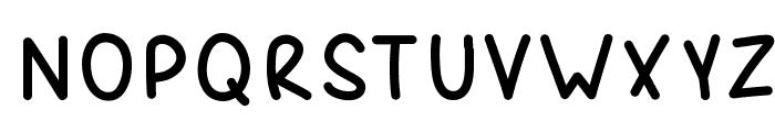 Spork Font UPPERCASE