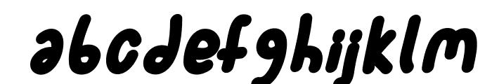SporkBoldItalic Font LOWERCASE