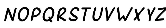 SporkItalic Font UPPERCASE