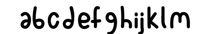 Spork Font LOWERCASE