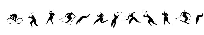 SportSatyre Medium Font UPPERCASE