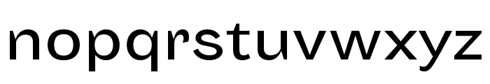 Sporting Grotesque Normal Font LOWERCASE