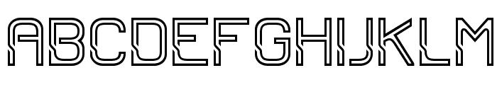 Sportrop Regular Font UPPERCASE