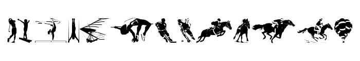 Sports 1 Font LOWERCASE