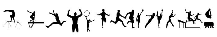 Sports tfb Font LOWERCASE
