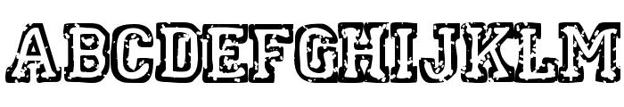 SpotEvent Font UPPERCASE