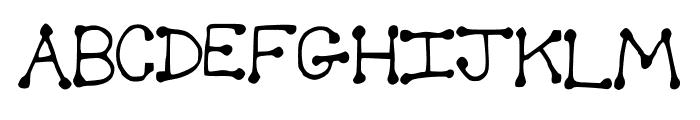Spotful Font UPPERCASE