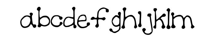 Spotful Font LOWERCASE