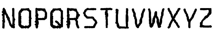 Spotlight Typewriter NC Font UPPERCASE