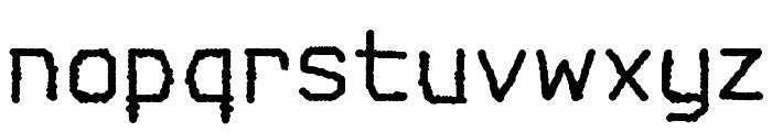 Spotlight Typewriter NC Font LOWERCASE