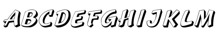 Sprague Font UPPERCASE