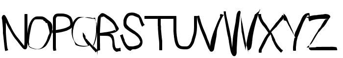 Sprayer Font UPPERCASE