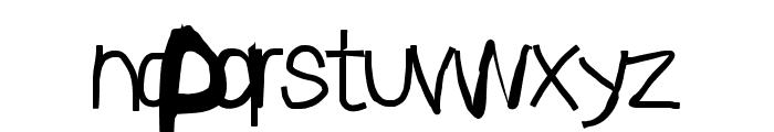 Sprayer Font LOWERCASE