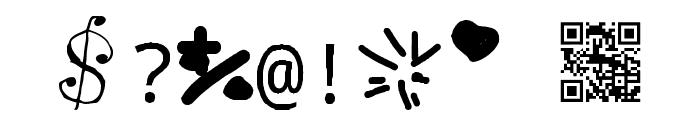 Spreadthedespair Regular Fonty Font OTHER CHARS