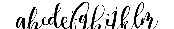 Spring Time Personal Use Font LOWERCASE