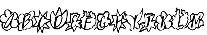 Spring Up Font UPPERCASE