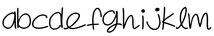 Spring in my step Font LOWERCASE