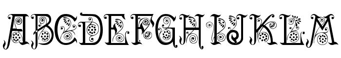 Spring Font UPPERCASE