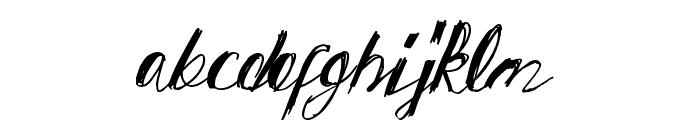 SpringAway Font LOWERCASE
