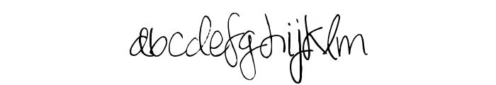 SpringDaisy Font LOWERCASE