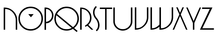 SpringGarden Regular Font UPPERCASE