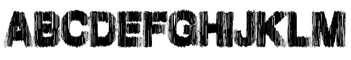 SpringHarder Font UPPERCASE