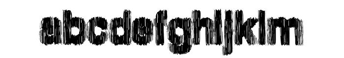 SpringHarder Font LOWERCASE