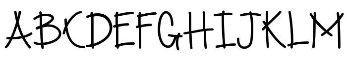 SpringRolls Font UPPERCASE