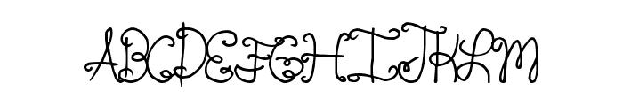 SpringTyme Font UPPERCASE