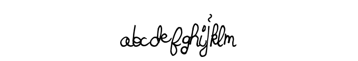 SpringTyme Font LOWERCASE
