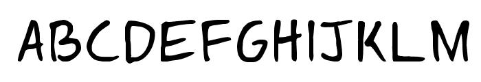 Springfield Cartoon Regular Font UPPERCASE
