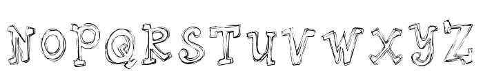 Springhouse Font UPPERCASE
