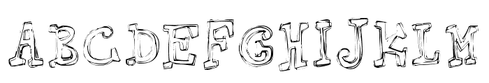 Springhouse Font LOWERCASE