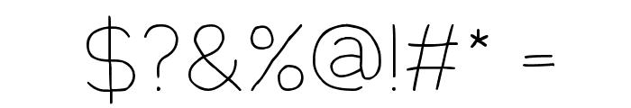 Springtime Font OTHER CHARS