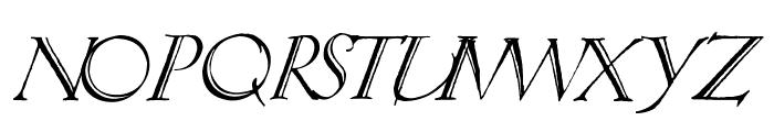 Springtime_Alternate Font UPPERCASE