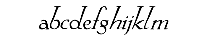 Springtime_Alternate Font LOWERCASE