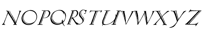 Springtime_Capitals Font LOWERCASE