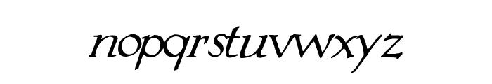 Springtime_Flourish Font LOWERCASE