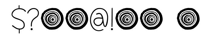 Springwood Line DEMO Regular Font OTHER CHARS