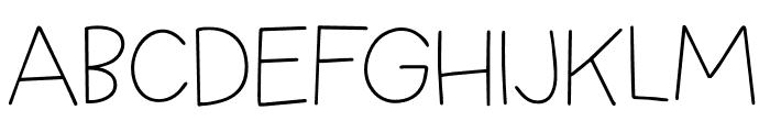 Springwood Line DEMO Regular Font LOWERCASE