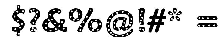 Sprinkles Font OTHER CHARS