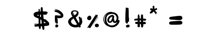 SpriteGraffiti Font OTHER CHARS