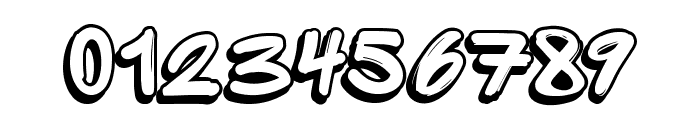 SpriteGraffitiShadow Font OTHER CHARS