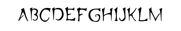 Sprots Medium Font UPPERCASE