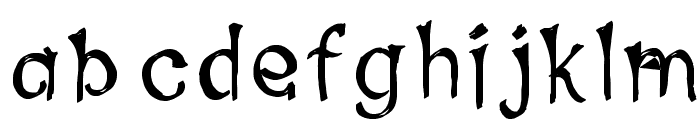 Sprots Font LOWERCASE