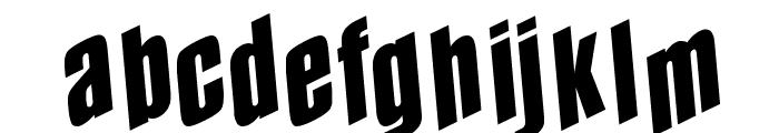 Spund Font LOWERCASE