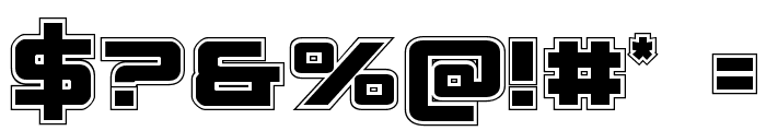Spy Agency College Font OTHER CHARS